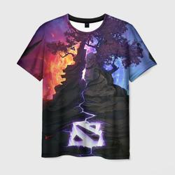 Мужская футболка 3DDota