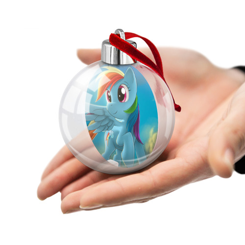 Ёлочный шар  Фото 02, My littlle pony