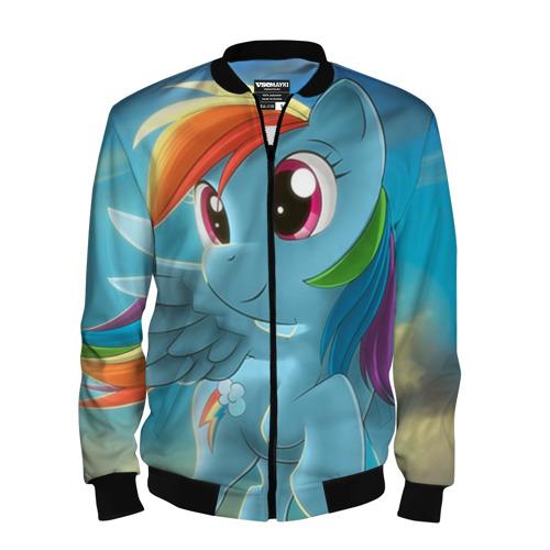 Мужской бомбер 3D My littlle pony