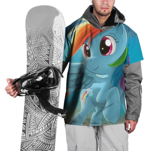 Накидка на куртку 3D My littlle pony