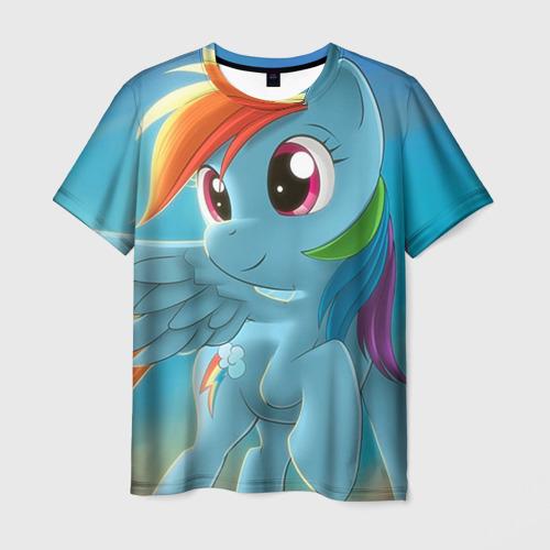 Мужская футболка 3D My littlle pony