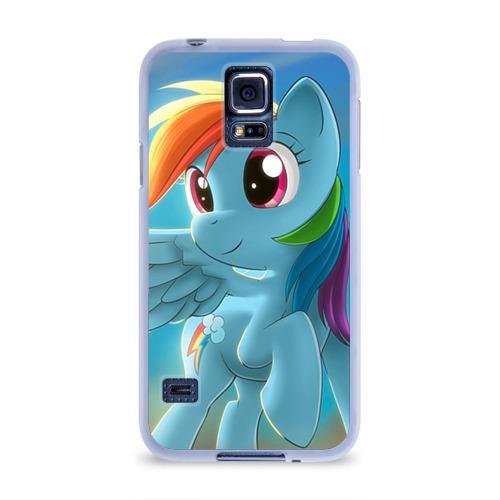 Чехол для Samsung Galaxy S5 силиконовый  Фото 01, My littlle pony