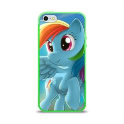 Чехол для Apple iPhone 5/5S силиконовый глянцевыйMy littlle pony