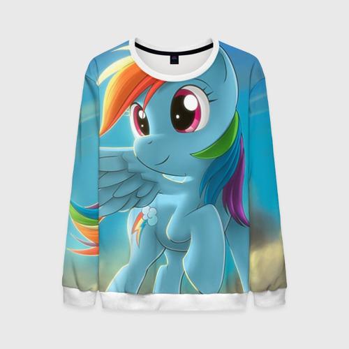 Мужской свитшот 3D My littlle pony от Всемайки