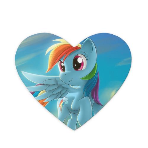 Коврик для мыши сердце My littlle pony