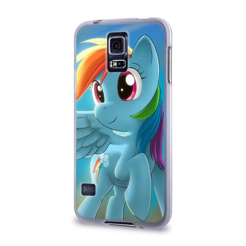Чехол для Samsung Galaxy S5 силиконовый  Фото 03, My littlle pony