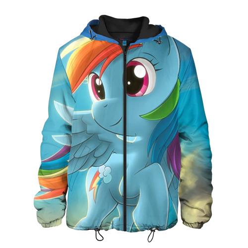 Мужская куртка 3D My littlle pony