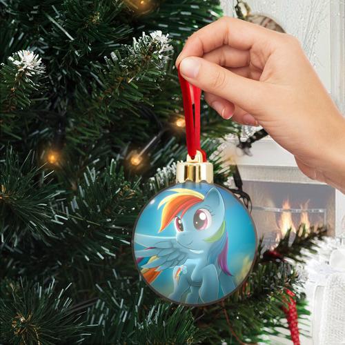 Ёлочный шар с блестками  Фото 04, My littlle pony