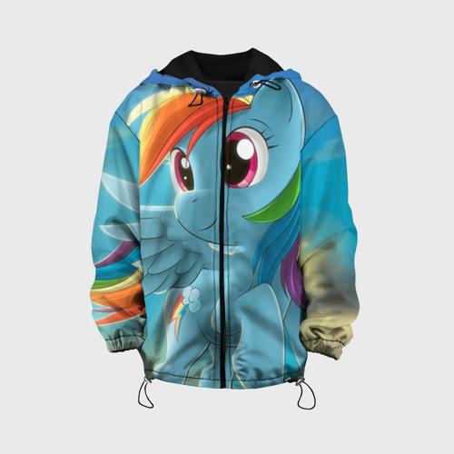 Детская куртка 3D My littlle pony