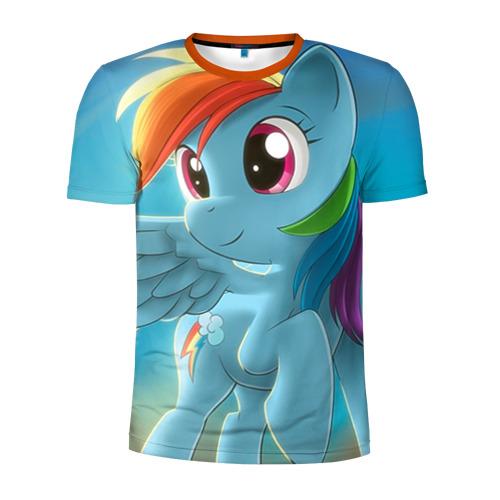 Мужская футболка 3D спортивная My littlle pony