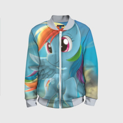 Детский бомбер 3DMy littlle pony