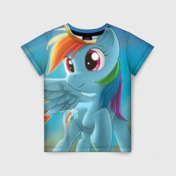 Детская футболка 3DMy littlle pony