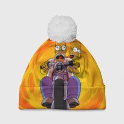 Симпсоны на байке