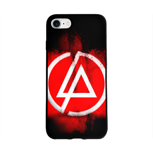 Чехол для Apple iPhone 8 силиконовый глянцевый Linkin Park