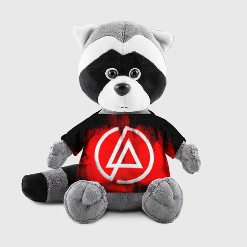 Енотик в футболке 3D Linkin Park