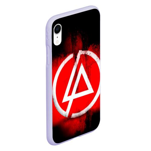 Чехол для iPhone XR матовый Linkin Park Фото 01