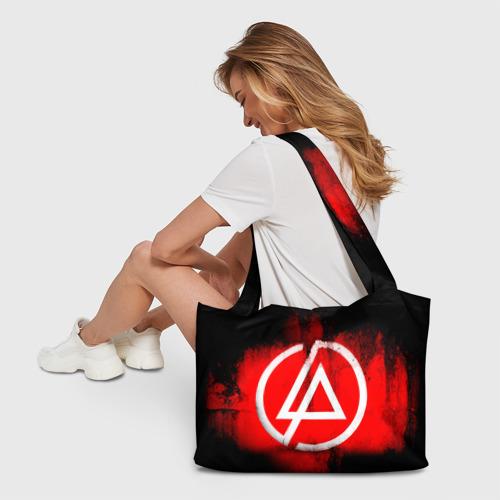 Пляжная сумка 3D Linkin Park Фото 01
