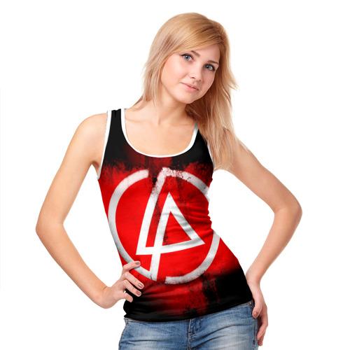 Женская майка 3D  Фото 05, Linkin Park