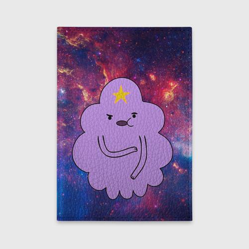 Обложка для автодокументов Пупырка в космосе