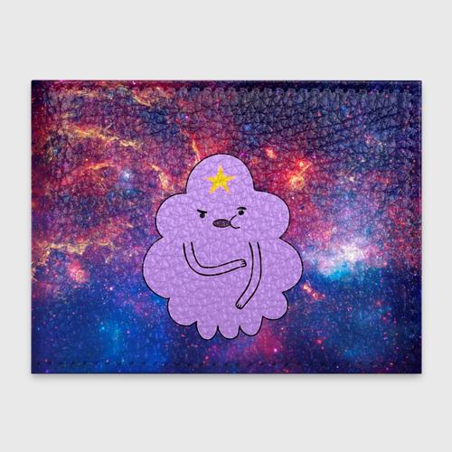 Обложка для студенческого билета Пупырка в космосе