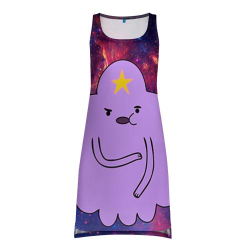 Платье-майка 3D Пупырка в космосе