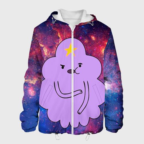 Мужская куртка 3D Пупырка в космосе