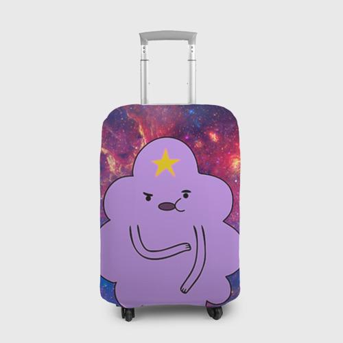 Чехол для чемодана 3D Пупырка в космосе