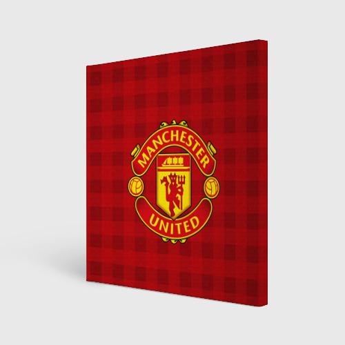 Холст квадратный  Фото 01, Manchester united