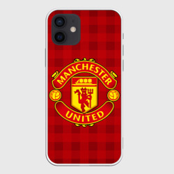 Чехол для iPhone 12 Pro Mini Manchester united