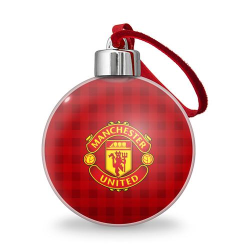 Ёлочный шар  Фото 01, Manchester united