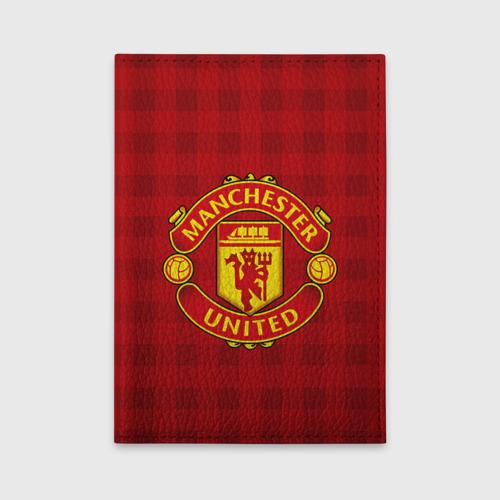 Обложка для автодокументов Manchester united