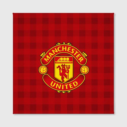 Холст квадратный  Фото 02, Manchester united