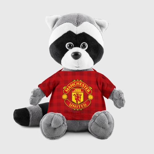Енотик в футболке 3D Manchester united
