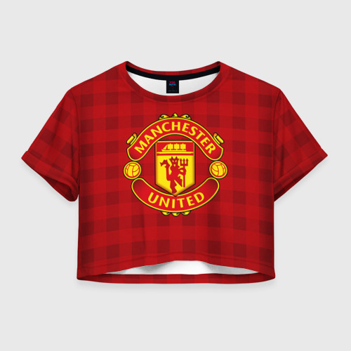 Женская футболка Cropp-top Manchester united