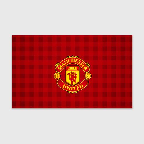 Бумага для упаковки 3D Manchester united