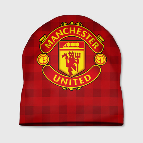 Шапка 3D Manchester united