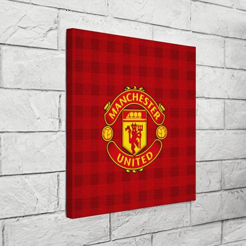 Холст квадратный  Фото 03, Manchester united