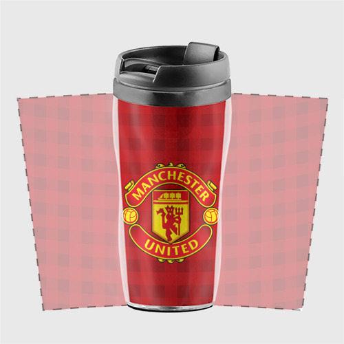 Термокружка-непроливайка Manchester united Фото 01