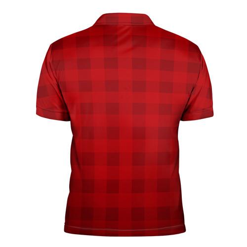 Мужская рубашка поло 3D Manchester united Фото 01