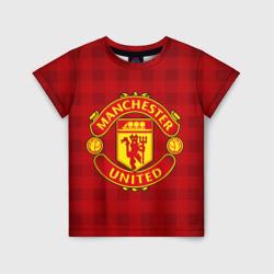 Детская футболка 3DManchester united