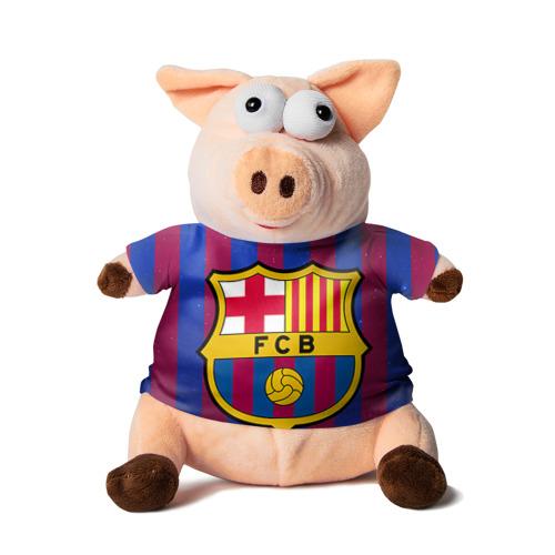 Свинка в футболке 3D Барселона