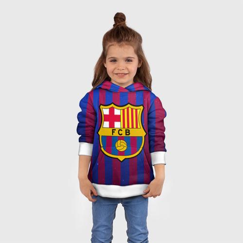 Детская толстовка 3D Барселона