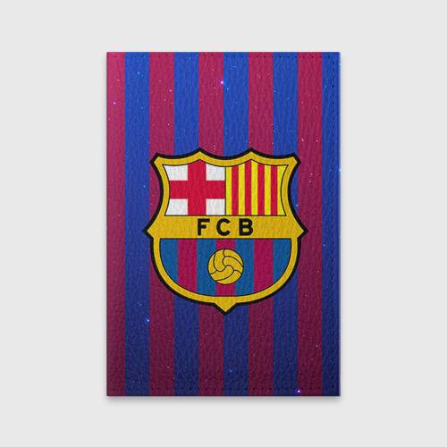 Обложка для паспорта матовая кожа Барселона