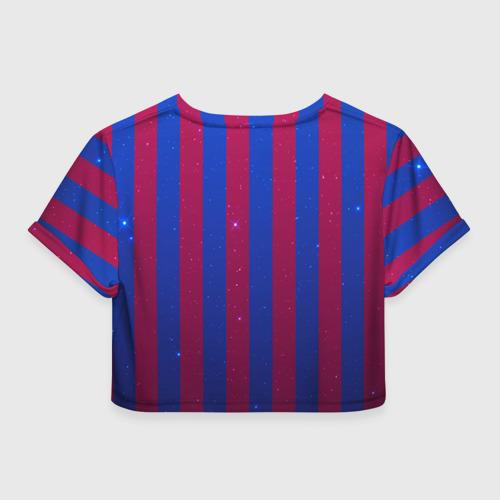 Женская футболка 3D укороченная  Фото 02, Барселона
