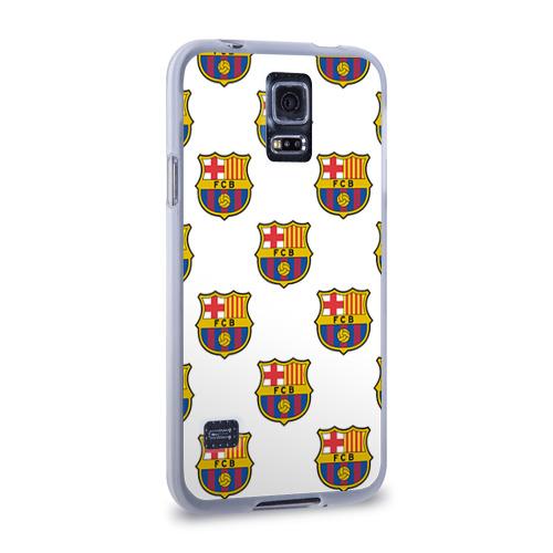 Чехол для Samsung Galaxy S5 силиконовый  Фото 02, Барселона