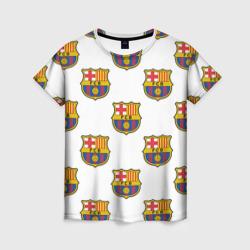 Женская футболка 3DБарселона