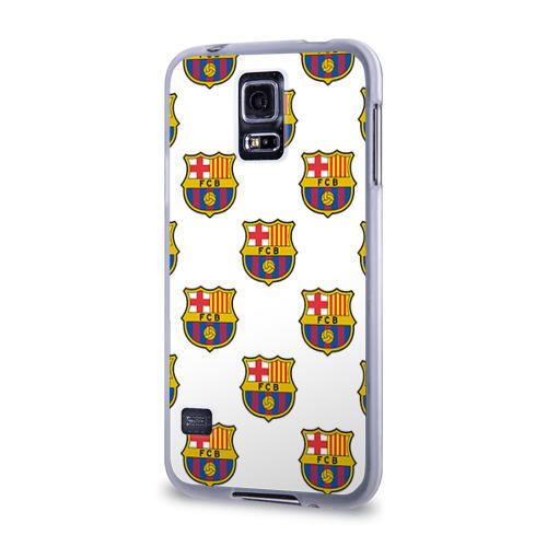 Чехол для Samsung Galaxy S5 силиконовый  Фото 03, Барселона