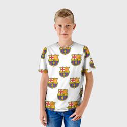 Детская футболка 3DБарселона