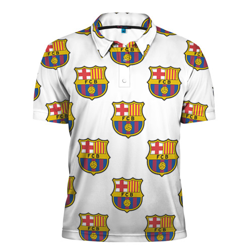 Мужская рубашка поло 3D Барселона