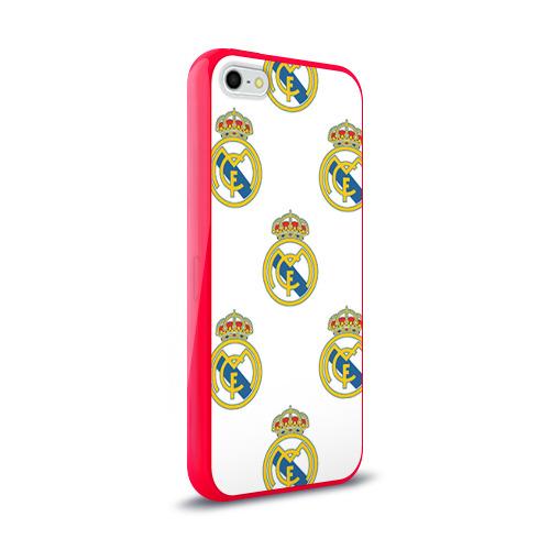 Чехол для Apple iPhone 5/5S силиконовый глянцевый  Фото 02, Real Madrid